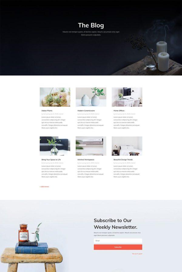 Free & Refreshing Interior Design Layout Pack