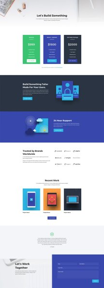 Stunning Free Web Agency Divi Layout Pack