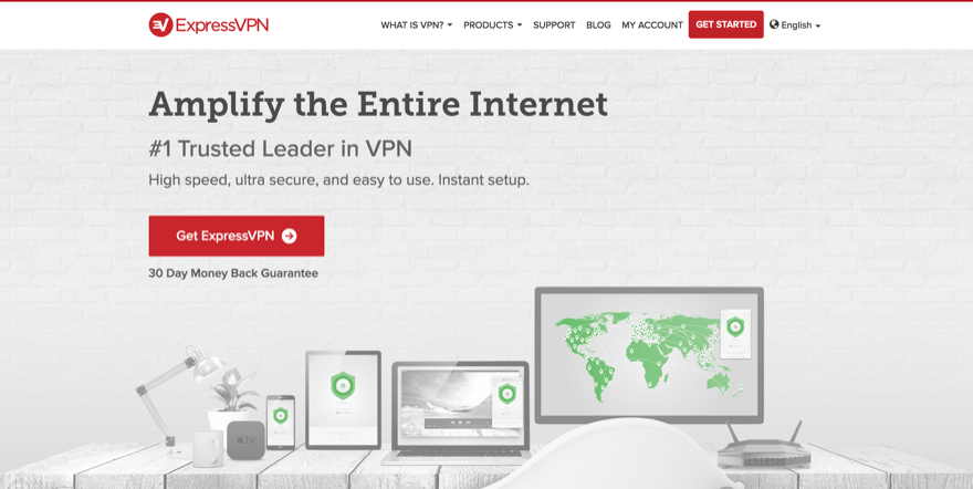expressvpn for wordpress users