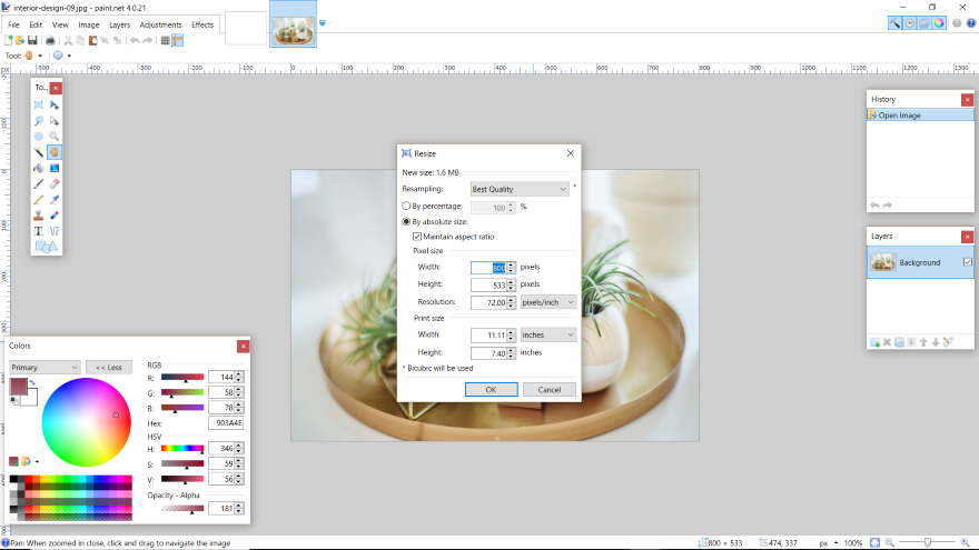 How To Disable Pixel Grid In Paint Net