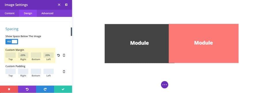 module settings