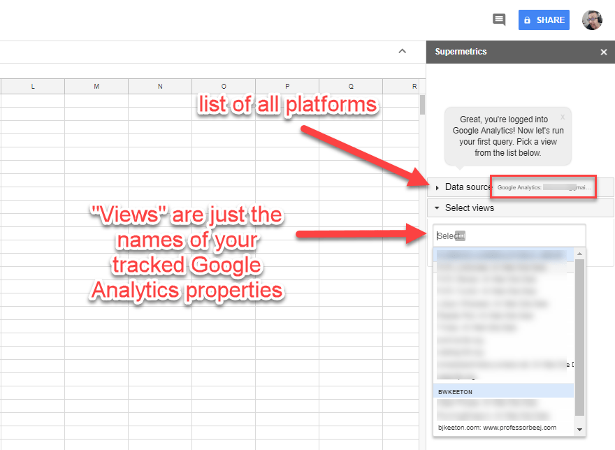 How to Use Google Sheets to Create a Metrics Dashboard for Your ...