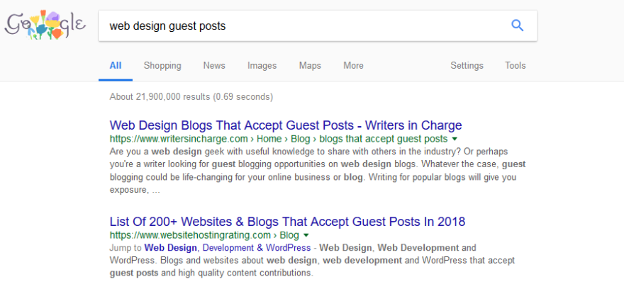 How to find guest posting opportunities.