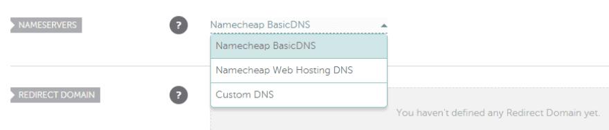 Configuring your nameserver.