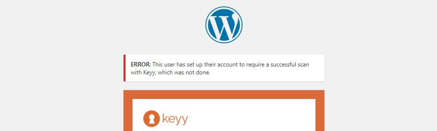 Keyy Login App and WordPress Plugin