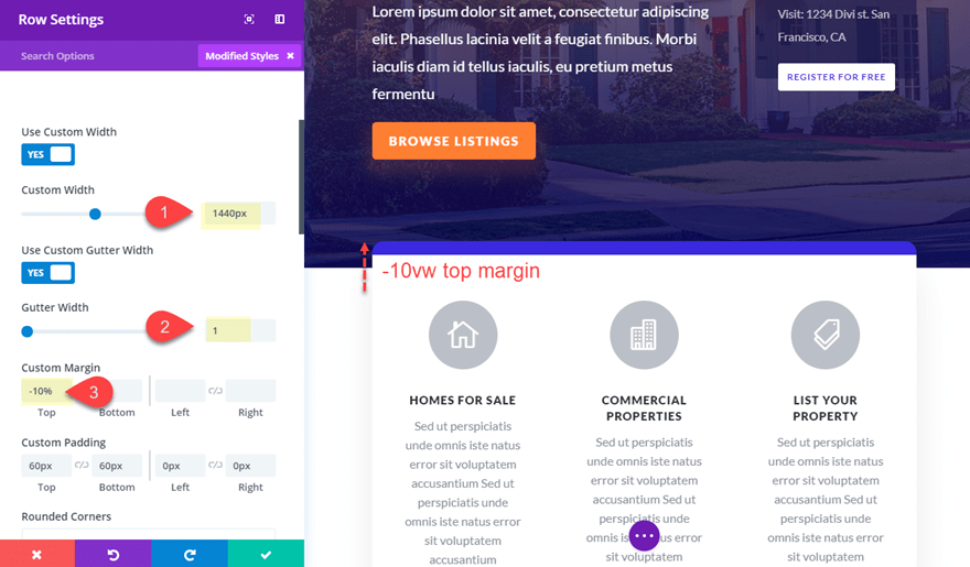 marg18 5 Creative Ways to Use Divi's Built-In Margin and Gutter Controls
