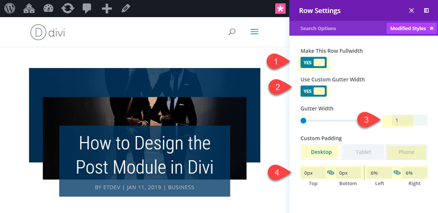 post40 4 Stunning Examples of Divi's Post Title Module & How to Achieve Them