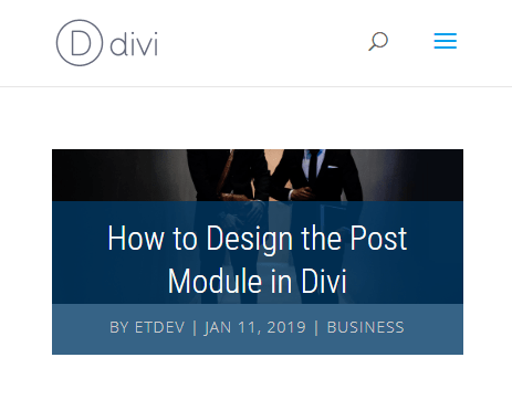 post41 4 Stunning Examples of Divi's Post Title Module & How to Achieve Them
