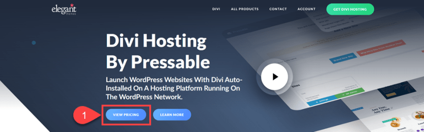 hosting with pressable
