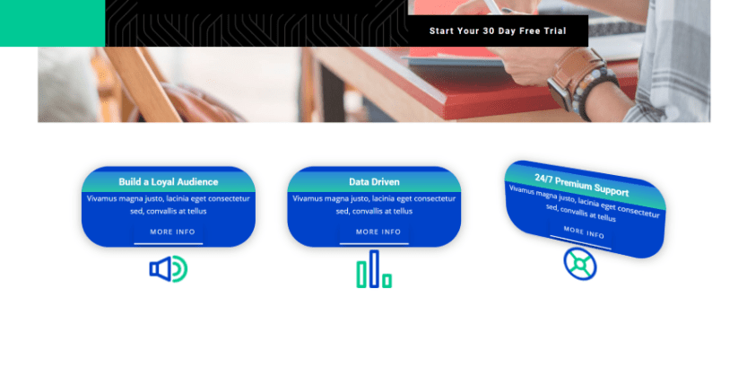 Divi Next Blurb Example Two