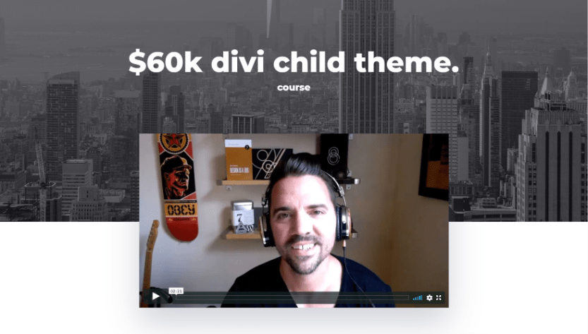 $60k Divi Child Theme Course