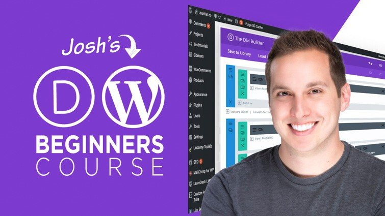 Divi/WordPress Beginners Course