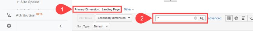 primary dimension