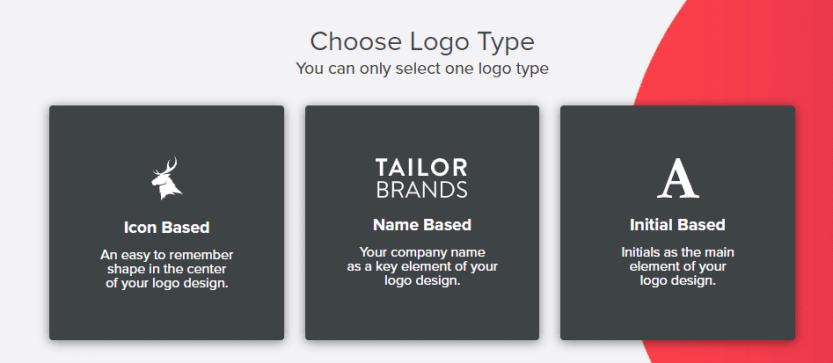 Choosing your favorite logo type.