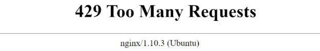 http error codes429