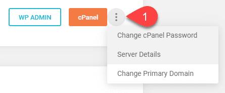 three dot menu options
