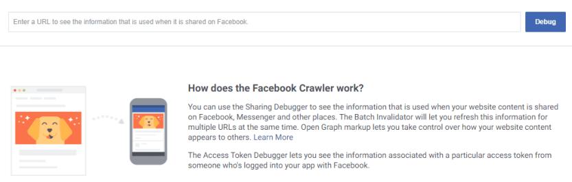 The Facebook Debugger.