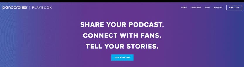 pandora podcasts