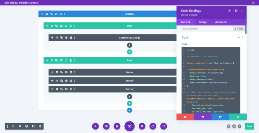 Creating a Global Header in the Divi Theme Builder