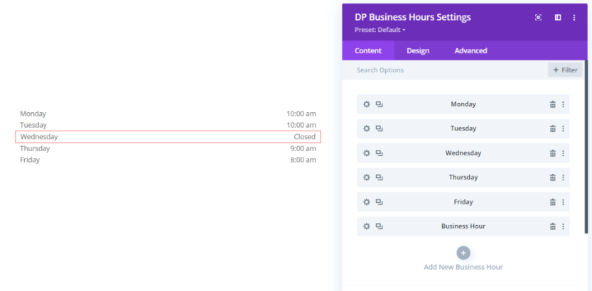 DP Business Hours