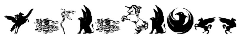 fantasy fonts wingdings