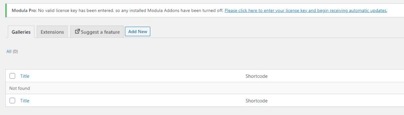 Installing Modula Pro