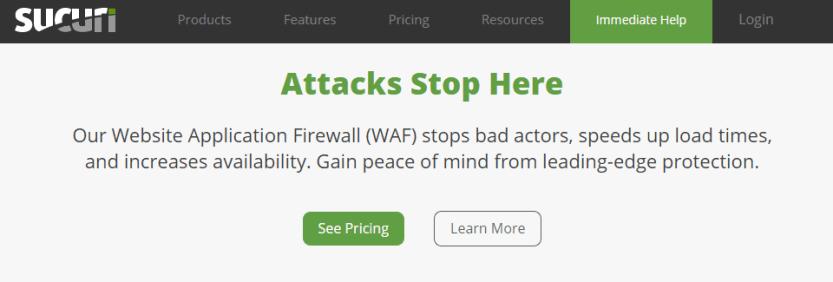 sucuri firewall