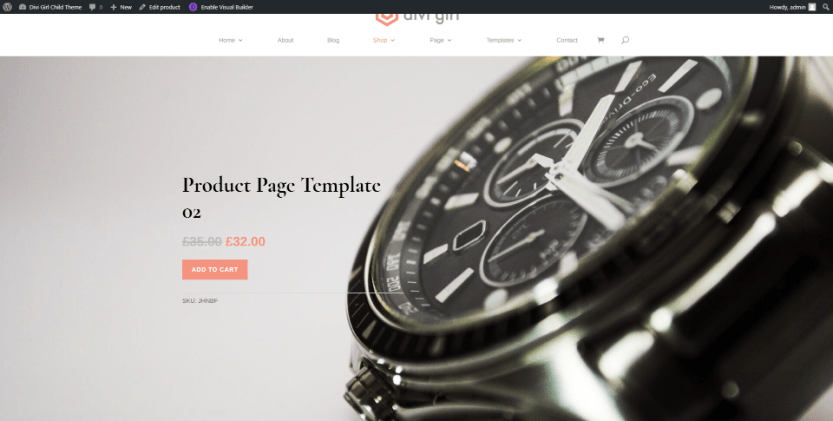 Product Template Two