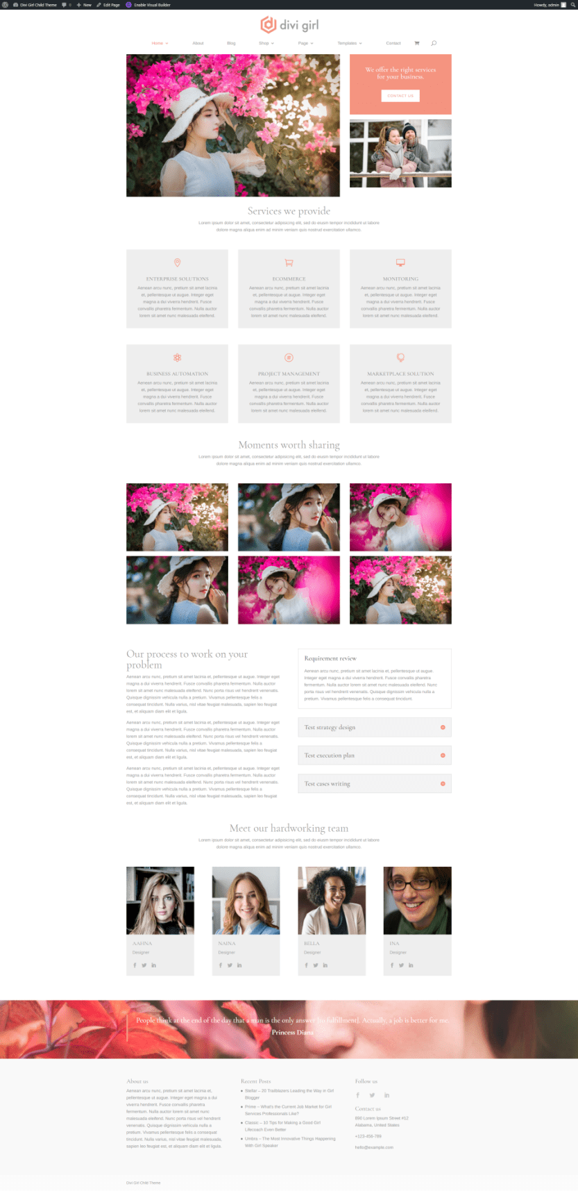 Services Homepage