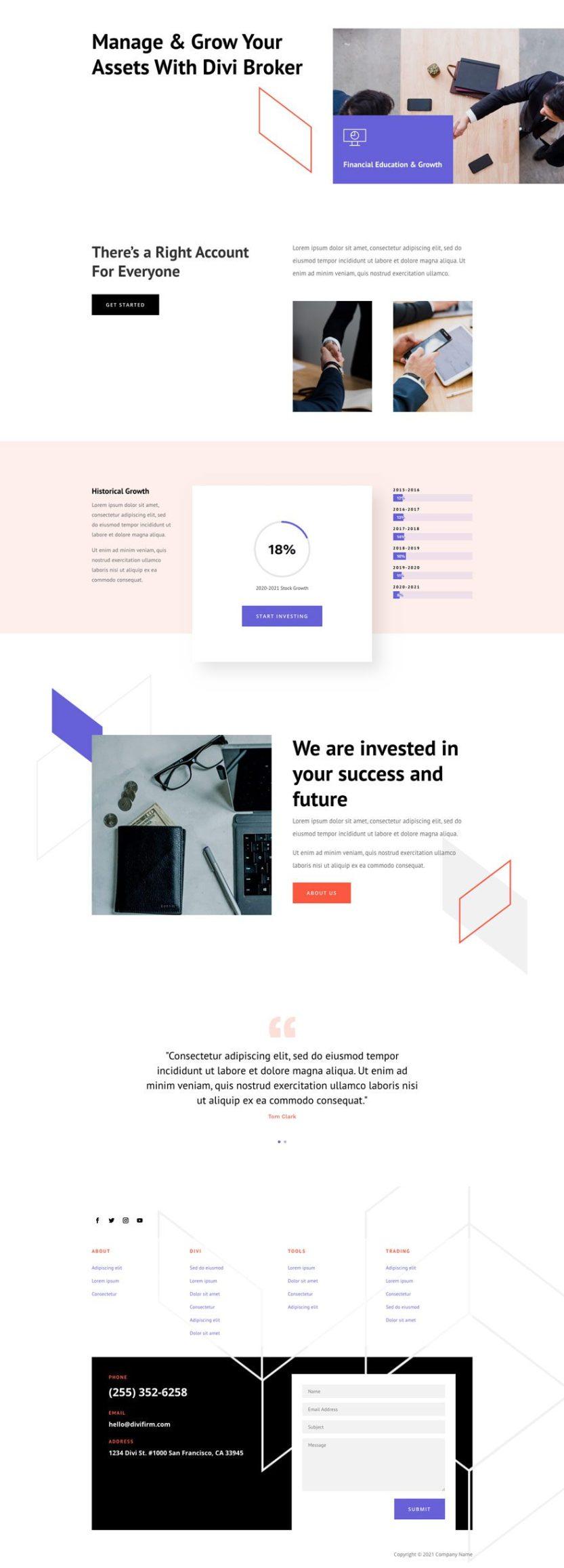 brokerage firm website