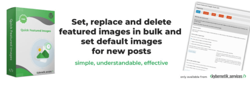 Quick Featured Images