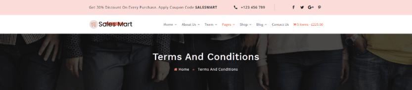Sales Mart Breadcrumbs