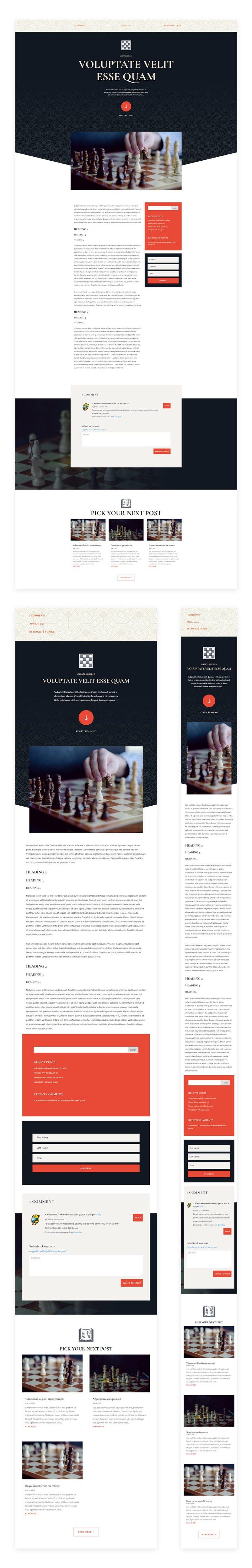 chess club blog post template