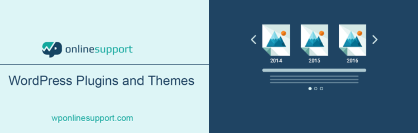 The Timeline and History Slider plugin for WordPress.