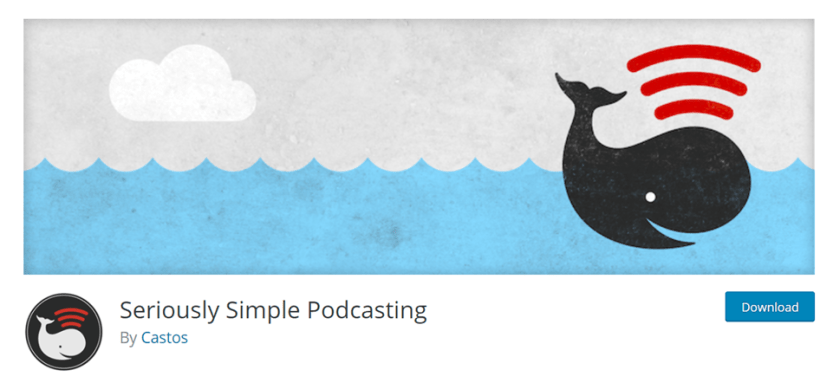 seriously simple podcasting plugin for wordpress