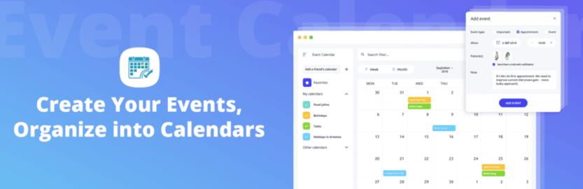 The Event Calendar WD plugin