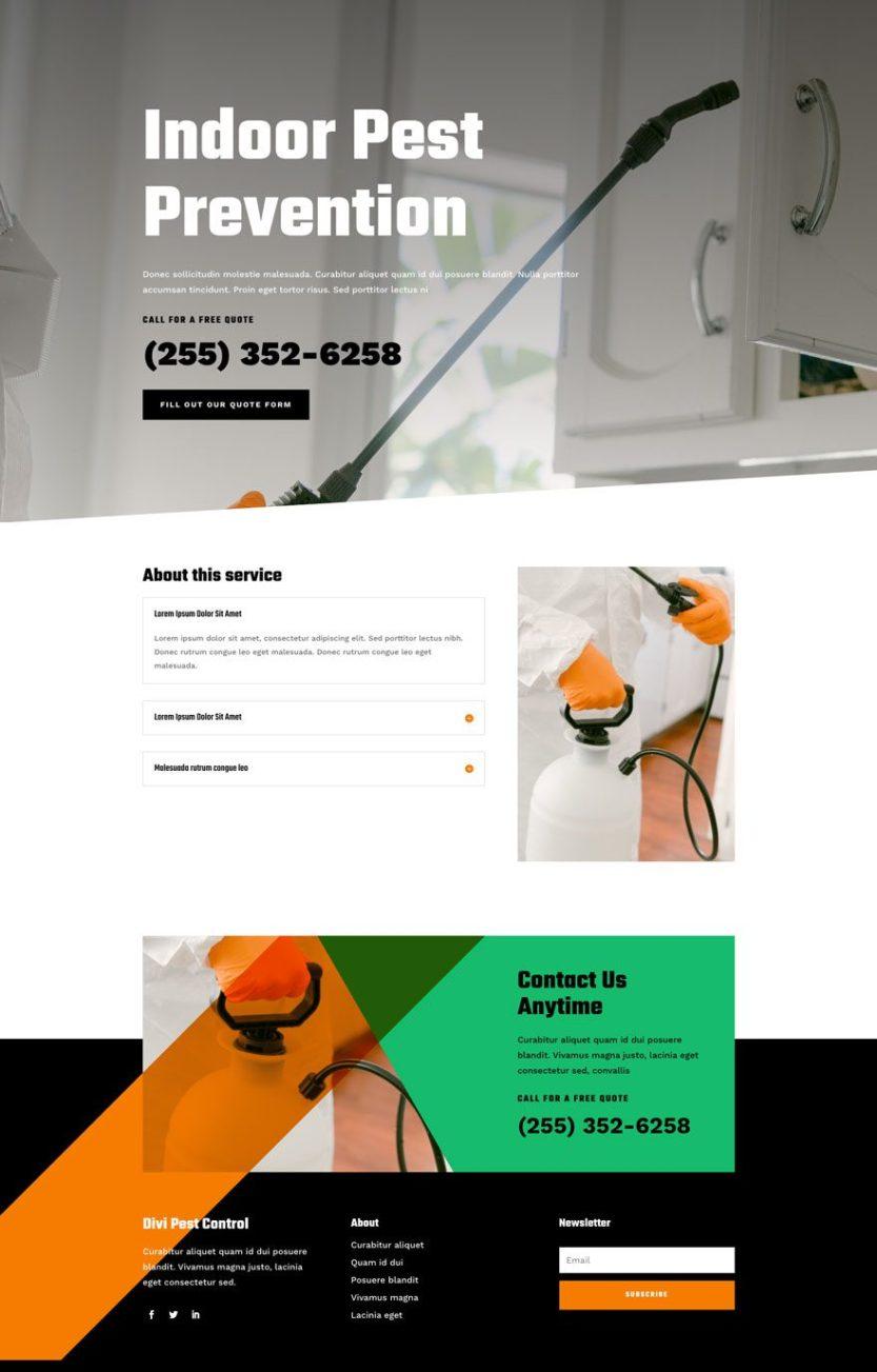 pest control website