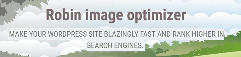 The Robin Image Optimizer plugin