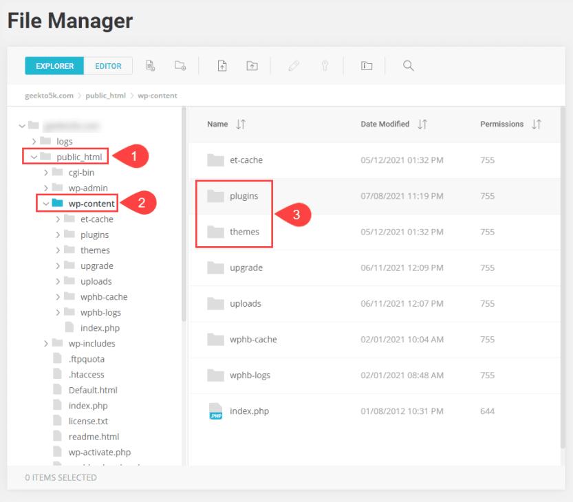 file manager for destination folder