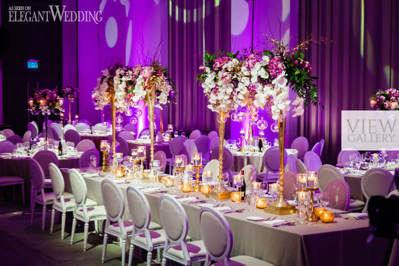 Fall Round Picnic Table Wallpaper Glamorous Gold Amp Purple Wedding Theme Elegantwedding Ca