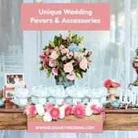 Unique Wedding Favors And Accessories - Elegant Wedding