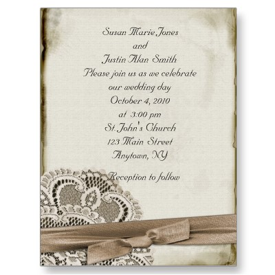Using Vintage Weddings Invitations From Funky To Formal