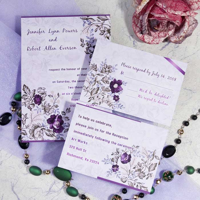 Colorful Bridal Shower Invitations