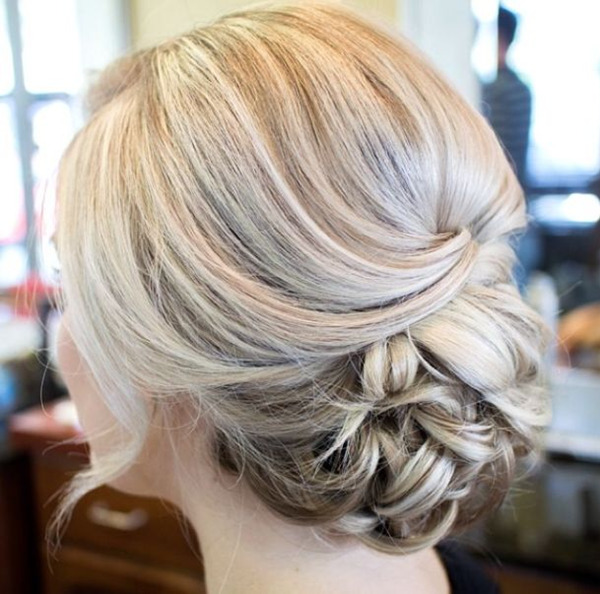 classic updo wedding hairstyles for long hairs