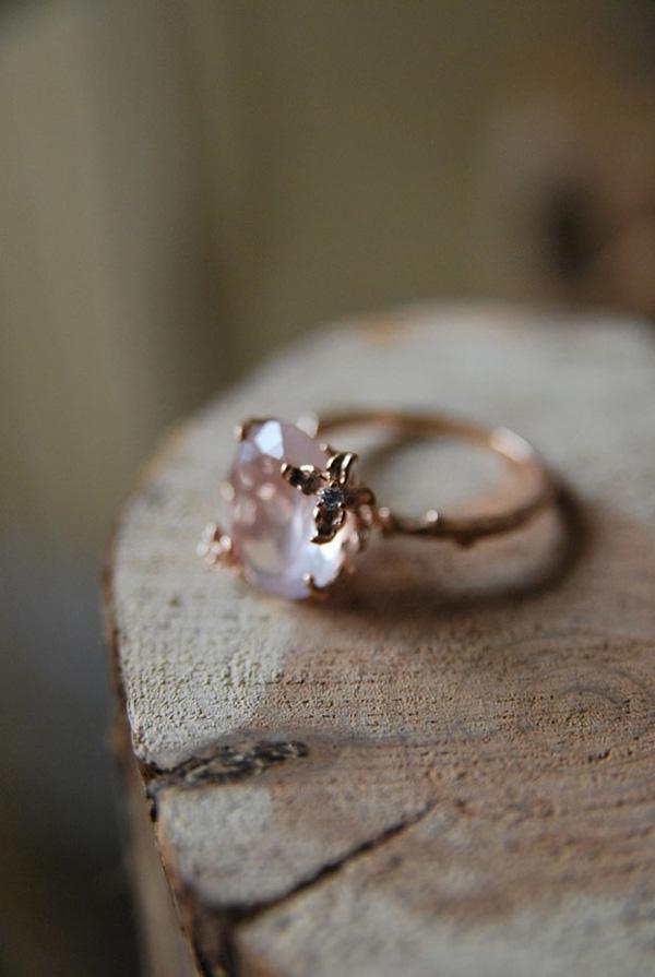 12 Impossibly Beautiful Rose Gold Wedding Engagement Rings  Elegantweddinginvitescom Blog