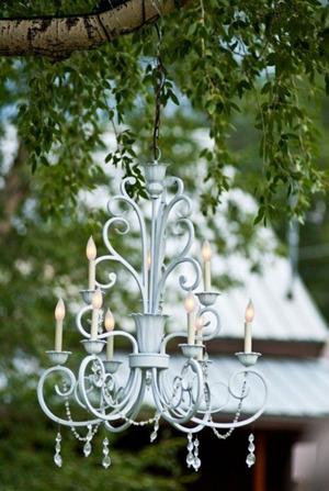 Vintage Wedding Chandelier Decoration Ideas