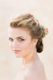 gorgeous wedding makeup & hairstyle