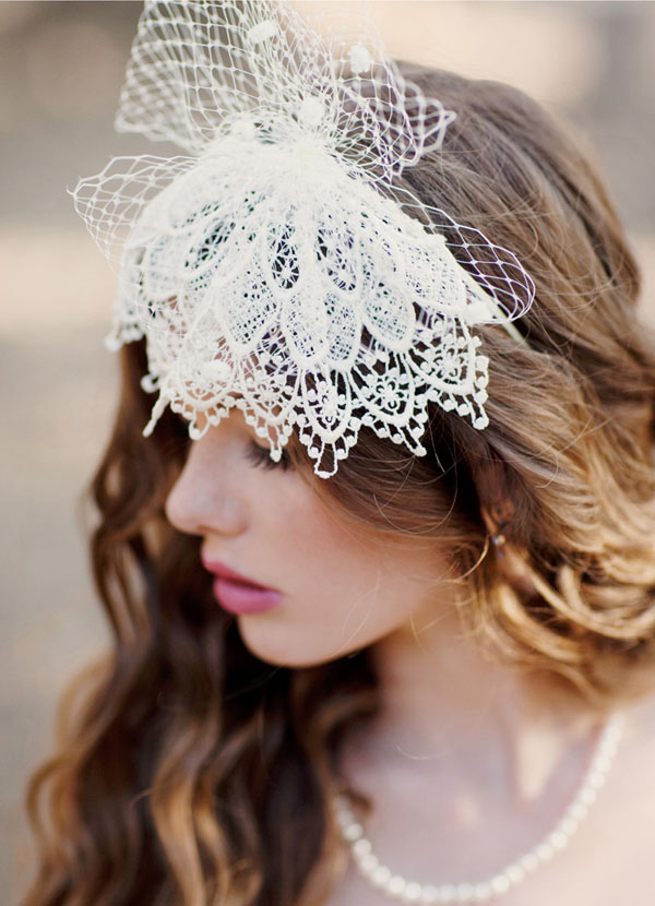 25 Prettiest Lace Bridal Hairpieces Amp Headpieces For Your