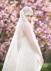 stunning wedding veil & headpiece