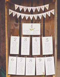 Creative wedding seating charts made using wooden crate also most popular chart ideas for your day rh elegantweddinginvites